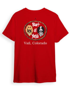 Bart and Yetis t-shirts